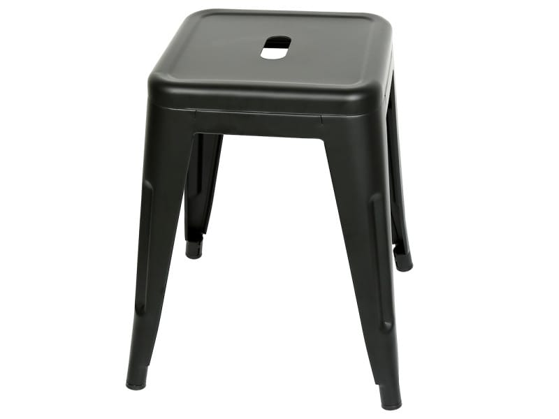 Lot de 2 tabourets de bar hombuy ,chaises de bar noir pour cuisine/ jardin/bureau etc.