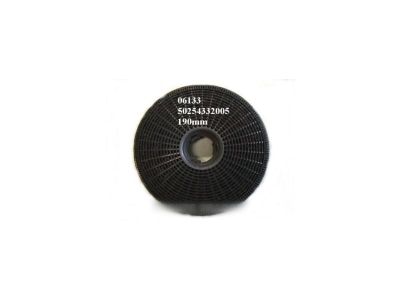 Filtre charbon actif type ca 200 r (x2) pour hotte arthur martin electrolux faure