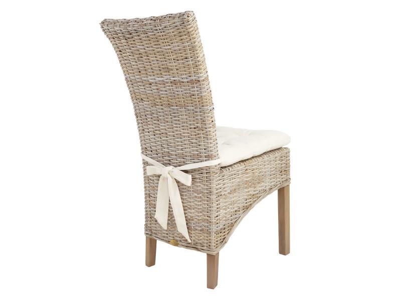 chaise tao en rotin kubu vente de chaise conforama. Black Bedroom Furniture Sets. Home Design Ideas