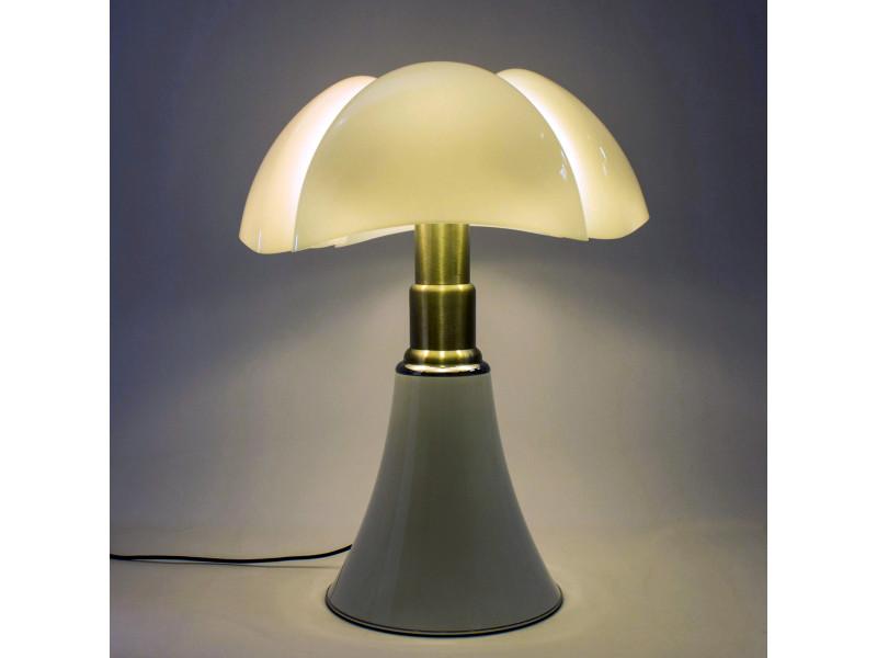 Lampe Pipistrello Blanche En Metal Vente De Lampe Conforama