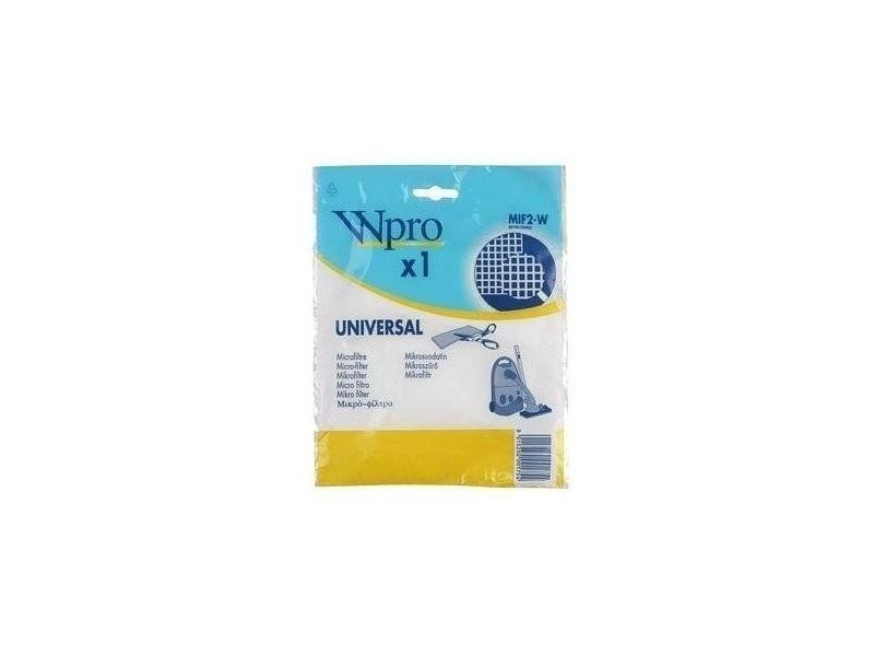 Wpro mif2-w micro-filtre universel aspirateur