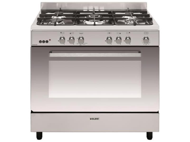 Piano de cuisson gaz 109l 5 feux inox - ge960cmix2 ge960cmix2