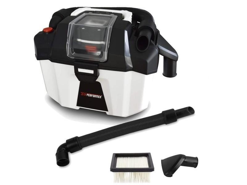 Aspirateur eau et poussière compact brushless sur batterie - xperformer xpvc20libl-10l - outil seul sans batterie ni chargeur