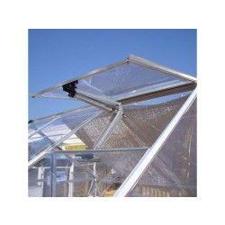 Ouverture automatique pour serre de jardin en polycarbonate
