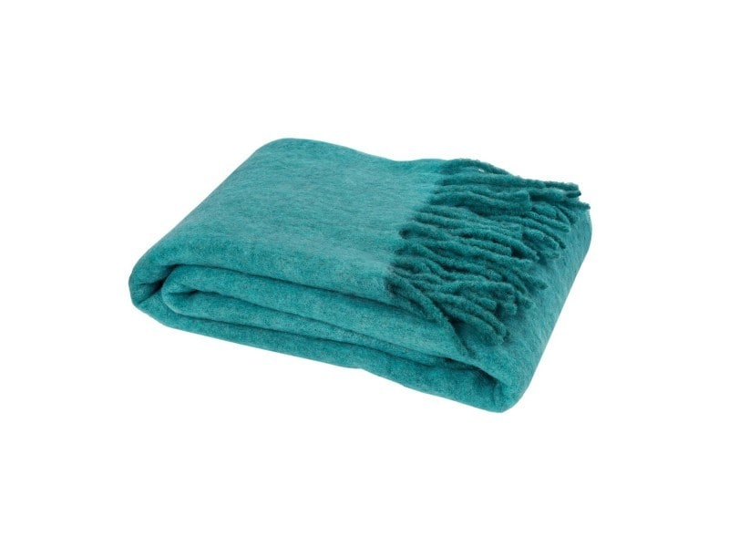 Plaid mélange laine-mohair - 130x180 cm - Vente de Plaid et couverture -  Conforama 8a86fde79c1