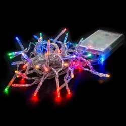 Guirlande noel 50 led multicolores 5mètre