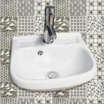 Lave-mains à suspendre vanda en céramique