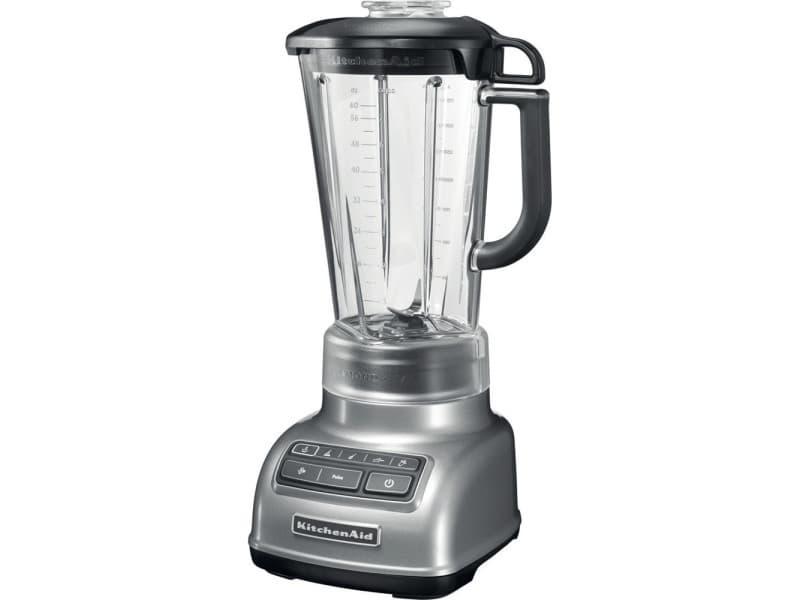 Blender mixeur électrique de 1,75l 550w gris argent