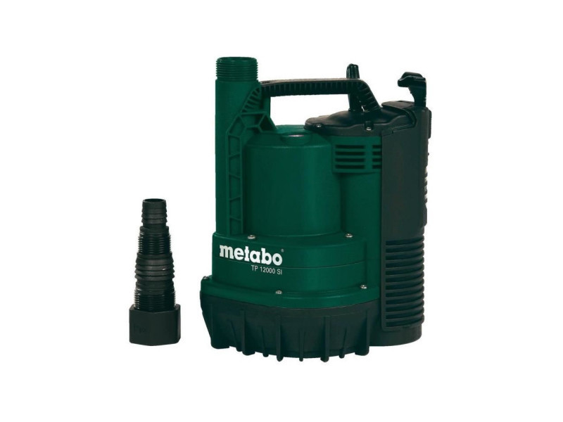Metabo pompe immergée tp 12000 si - 600 w
