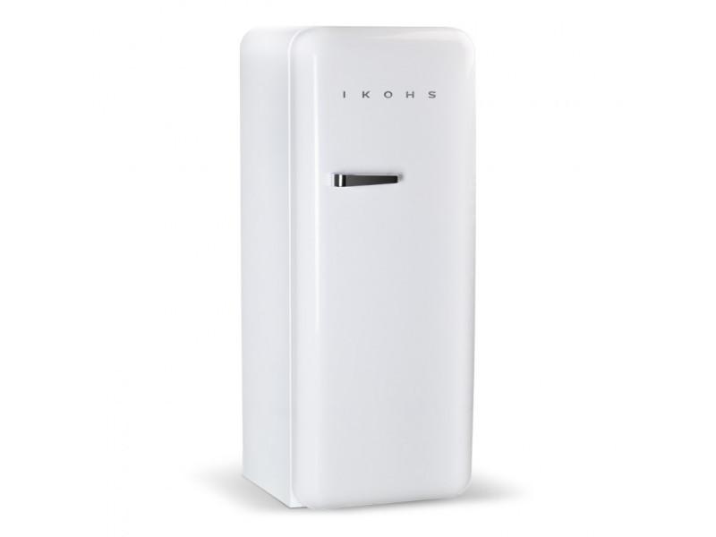 Retro fridge 150 blanc - réfrigérateur