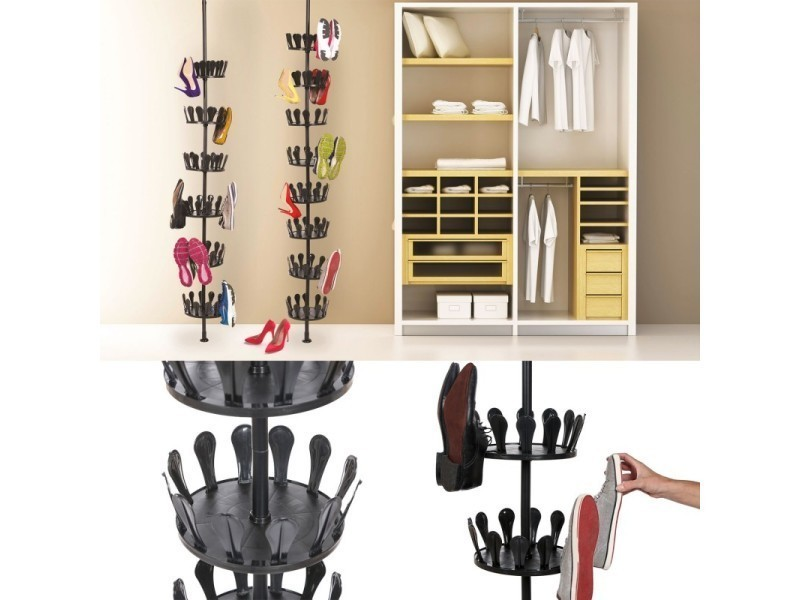 meuble chaussure tourniquet latest meuble chaussures en bois bambou modle au choix with meuble. Black Bedroom Furniture Sets. Home Design Ideas