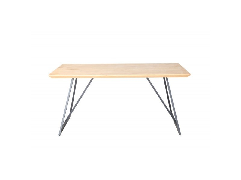 Table de repas fixe 160 cm rectangulaire - dune