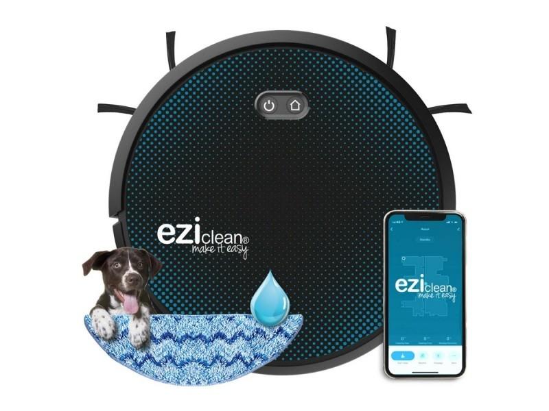 Robot aspirateur laveur connecté eziclean® aqua connect x550 EZI3760190145857