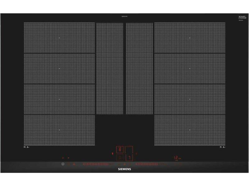 Table de cuisson à induction 80cm 4 feux 7400w flexinduction noir - ex875lyv1e ex875lyv1e