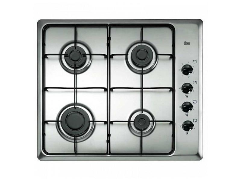 Plaque à gaz noir en acier inoxydable 7500w 60 cm - plaque de cuisson cuisine