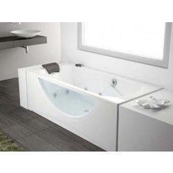 Baignoire et douche hydromassantes salle de bain cuisine salle de bain - Baignoire balneo hammam ...