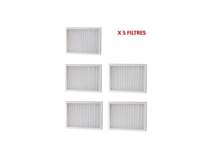 Lot de 5 filtres recharge smf pour déshumidificateurs ds/ed/tdr 8012804_5
