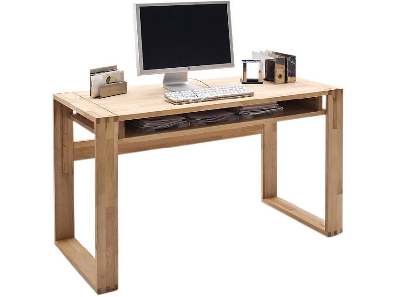 Bureau contemporain en bois massif hêtre cm cm vente de