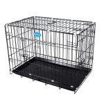 Cage pour chien pliable et transportable noir taille m 75 x 47 x 54 cm 3712013