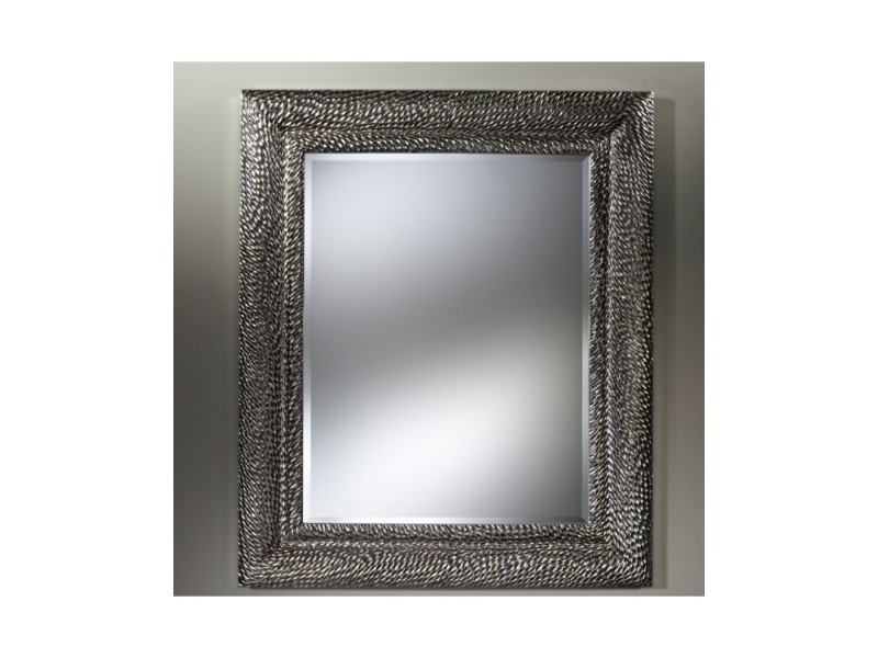 Miroir contemporain dragon silver rectangulaire argent 105x192 cm ...