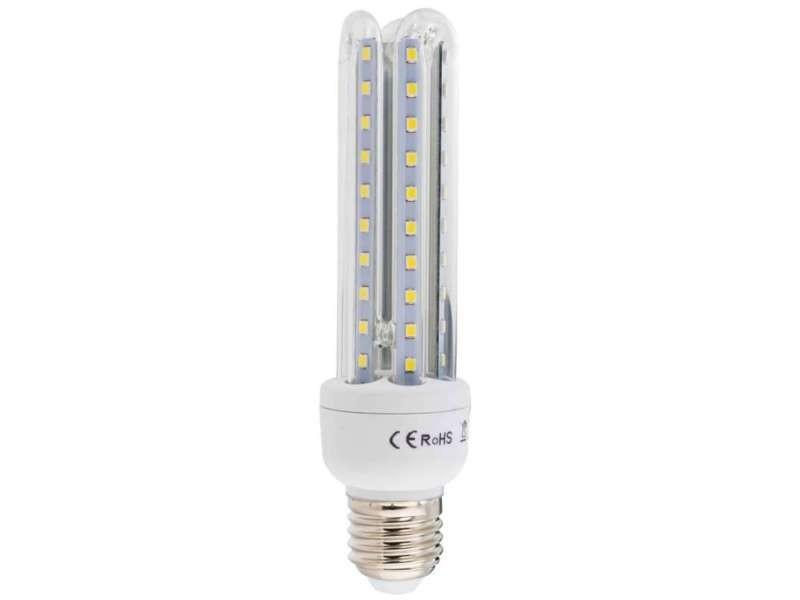 Ampoule led 3 tubes e27 8w blanc/froid