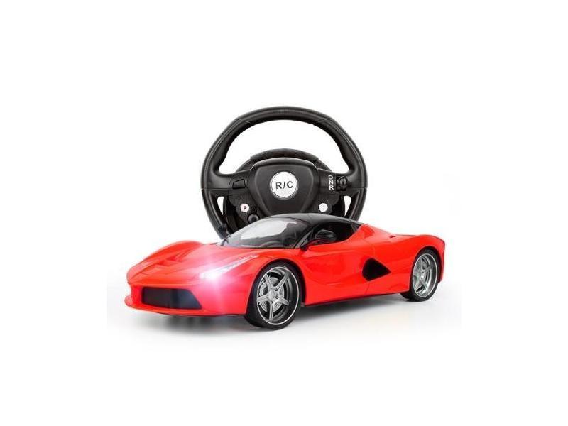 Jouet Voiture Et Enfants Pour De Télécommande Volant Avec Ferrari UzqGMpVS