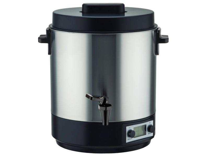 Stérilisateur électrique avec robinet et minuteur 31l 2100w écran lcd - bat-zj28e bat-zj28e