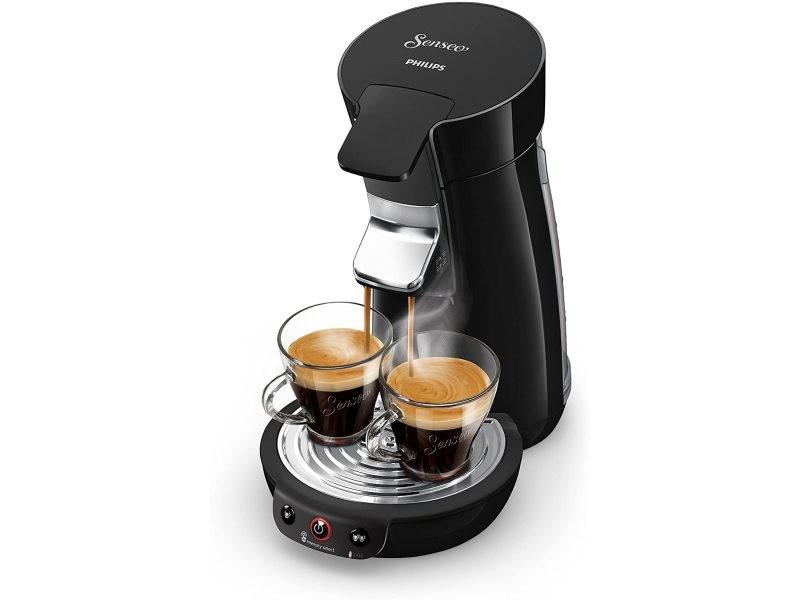 Machine à café à dosettes senseo de 0,9l 1450w noir