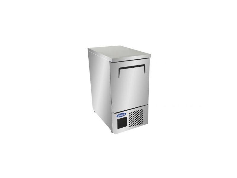 Table réfrigérée négative compacte - 1 porte gn1/1 - atosa - r2901 portepleine