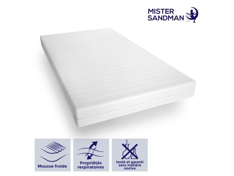 Matelas 120 x 200cm matelas ferme confortable pas cher matelas sommeil réparateur- épaisseur 15 cm