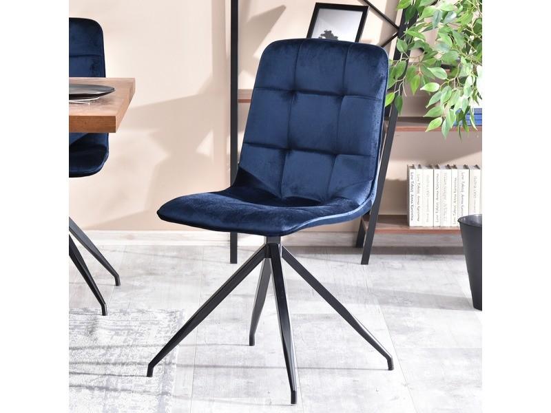 sally bleu salle marine chaise Chaise manger design à xeCrBdo