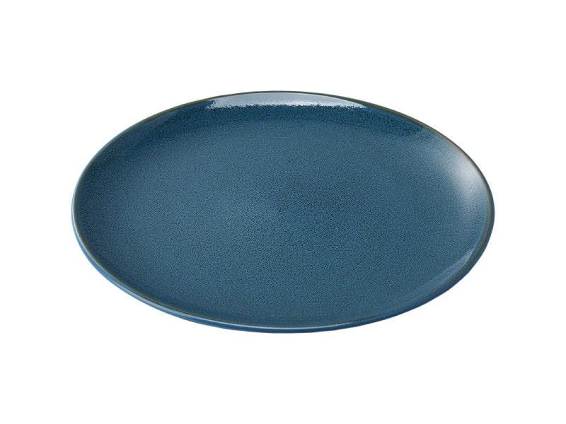 Assiette plate porcelaine bleue ø 200 mm - stalgast - 20 cm porcelaine
