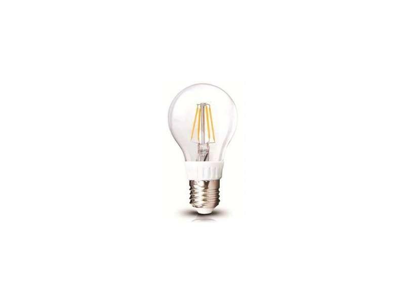 Ampoule led a60 filament 6w e27 blanc chaud 2700k SP1388