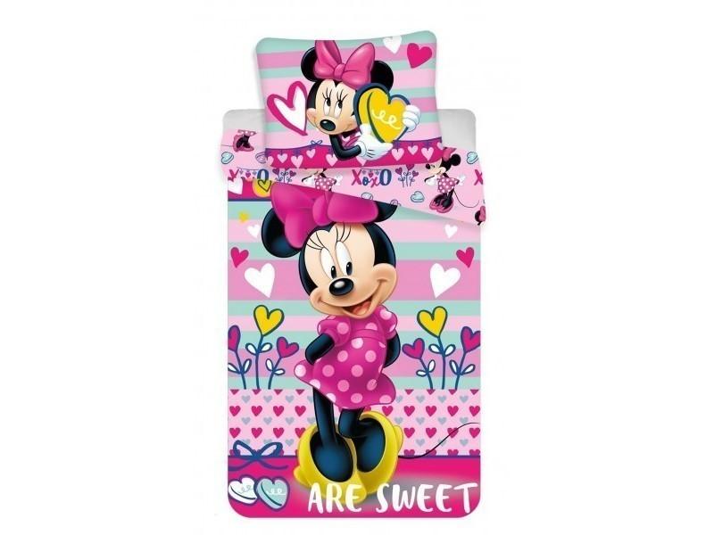 Minnie Mouse Sweet Parure De Lit Enfant Housse De Couette