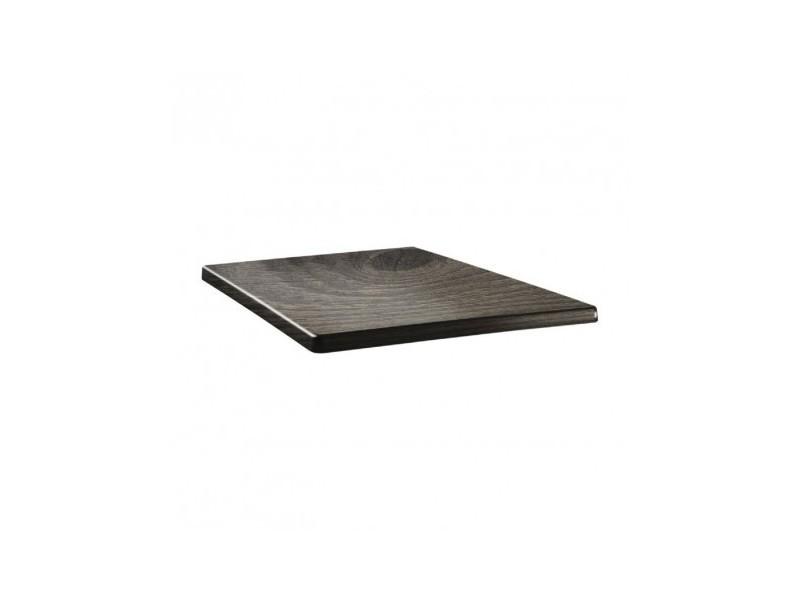 Plateau de table carré - 60 x 60 - line timber - bois
