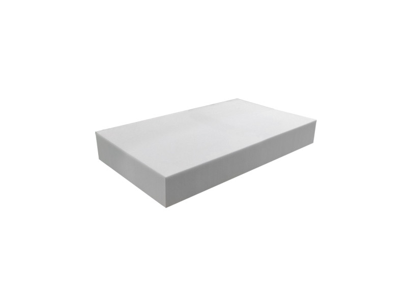 Matelas pour tous | plaque de mousse 30 kg/m³ 80x120 cm | epaisseur 10 cm 3DE.PE.30.10.0812