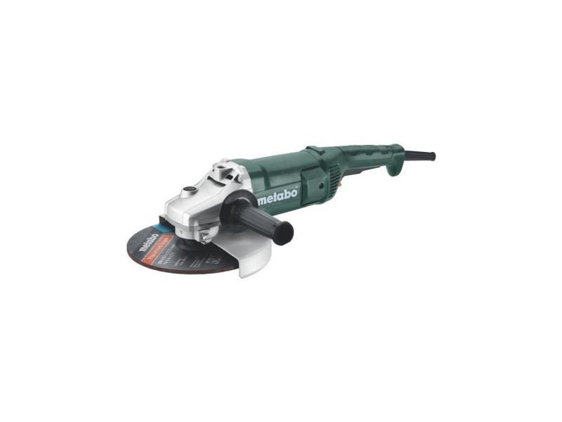 Meuleuse - 230 mm wp 2000-230 coffret MET4007430341303