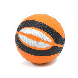 Balle souple - basket - orange