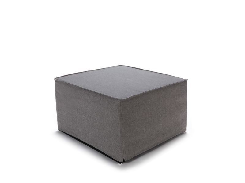 pouf convertible lit tissu jazz couleur gris perle jm007 lk16 grey vente de pouf conforama. Black Bedroom Furniture Sets. Home Design Ideas