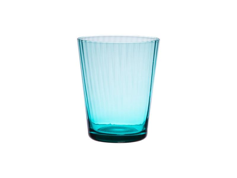 Verre venise bleu turquoise 37 cl (lot de 6)