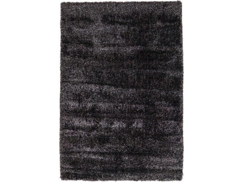 Tapis tissé grace shaggy anthracite OSNEH-200-290-E