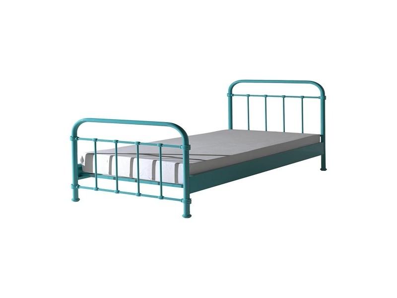 lit enfant metal affordable lit enfant mtal rouge alba. Black Bedroom Furniture Sets. Home Design Ideas