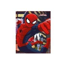 Spiderman plaid ou couverture polaire ultimate spider-man