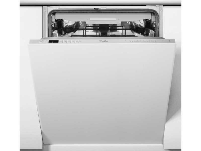 Lave vaisselle tout integrable 60 cm whirlpool wkcio 3 t 133 pfe