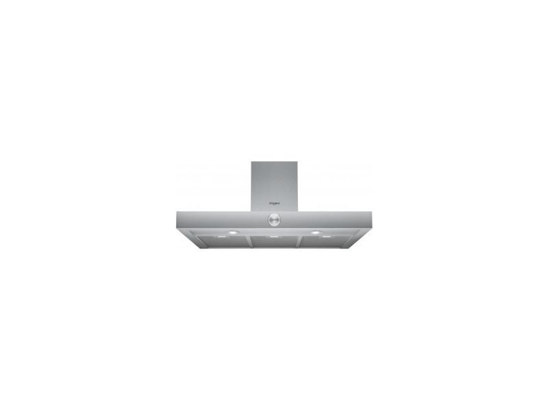 Hotte deco box l90 105/432/735 m3h 31/60/72db inox CODEP-WHBS93FLKX
