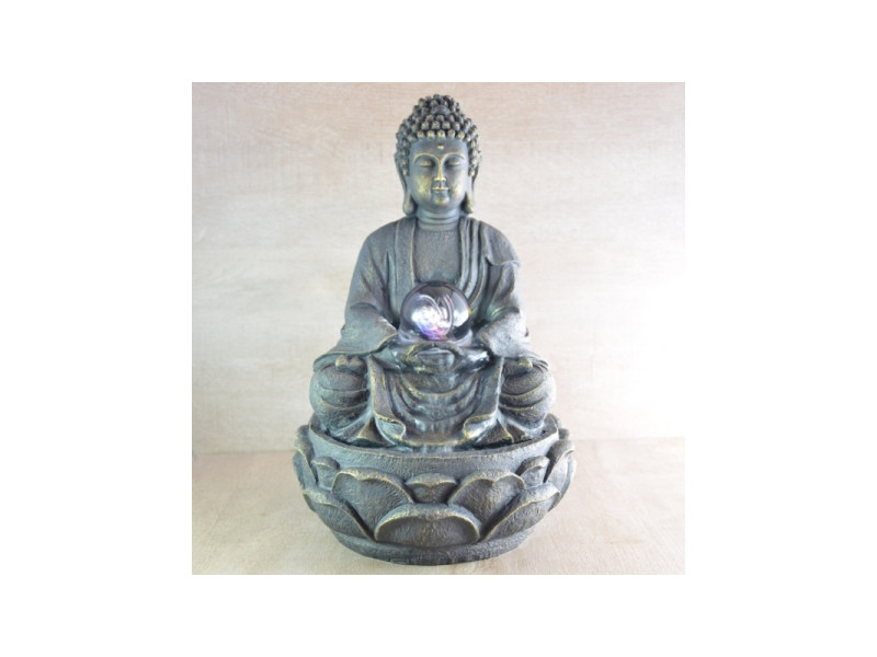 Fontaine d'intérieur bouddha méditation sendo guiro