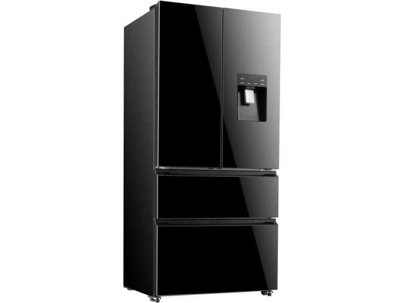 Réfrigérateur multi-portes 536l froid ventilé continental edison a+, ceraf536db CERAF536DB