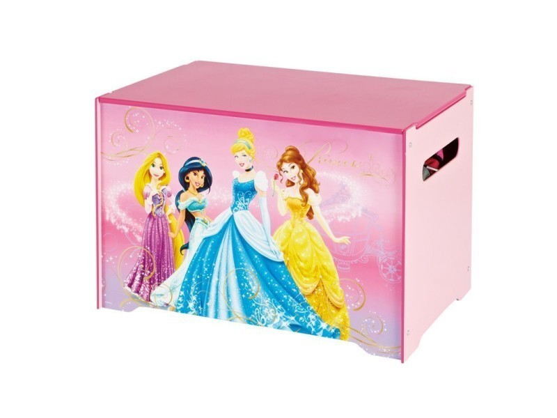coffre jouets pour fille princesse disney vente de. Black Bedroom Furniture Sets. Home Design Ideas