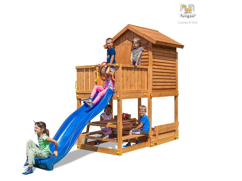 Aire de jeux my house free time beach bleu - fungoo
