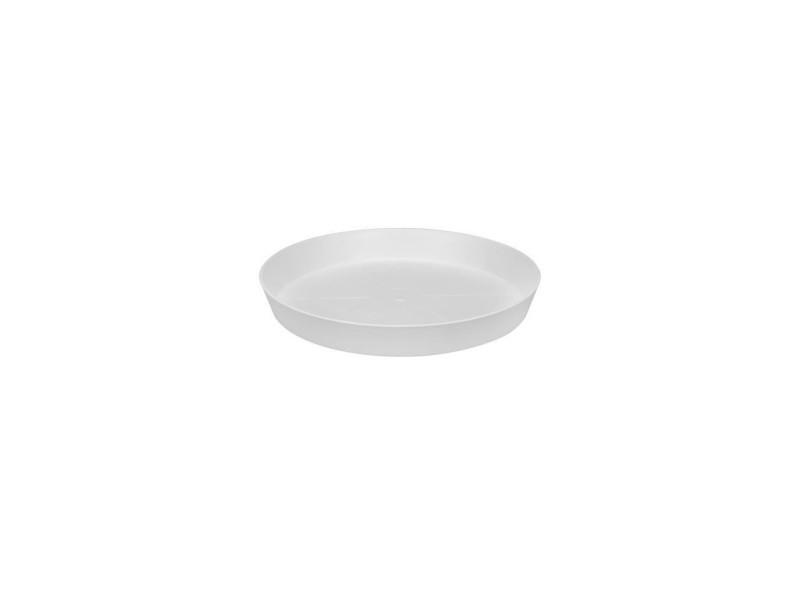 Elho soucoupe ronde pour pot de fleur - ø24 cm - blanc